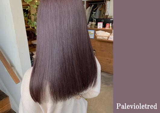 カラー 髪質改善ストレート