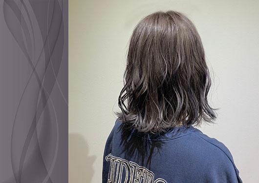 髪質改善カラー
