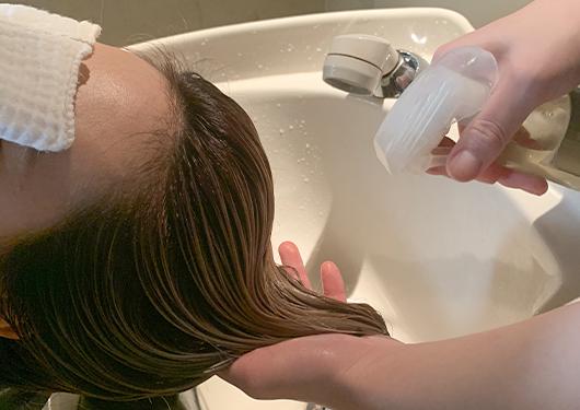 毛髪科学に基づいた『毛髪改善トリートメント』